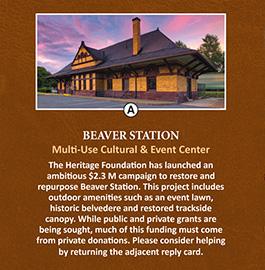 Beaver Area Heritage Foundation – Direct Mailer